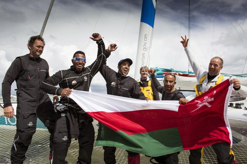 Record pour Sidney Gavignet et ses hommes sur le tour des îles Britanniques !
