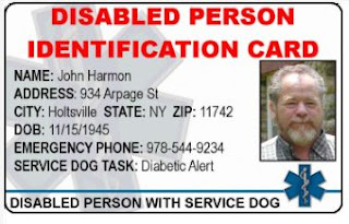 service dog papers