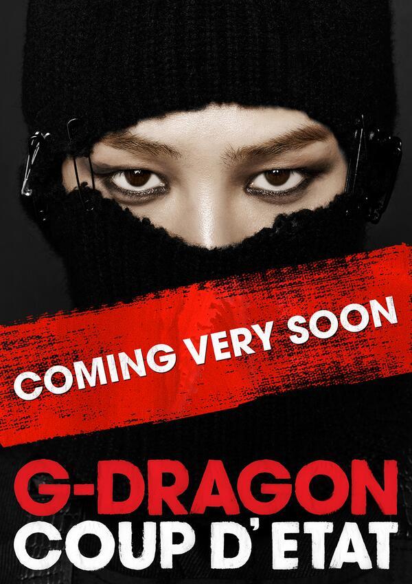 G-Dragon Big Bang Rilis Teaser Untuk Album Baru Coup D'Etat