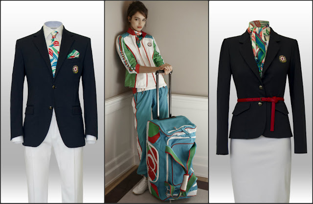 Azerbaijan uniform for london olympic