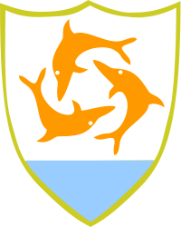 Danse aquatique Anguilla_crest