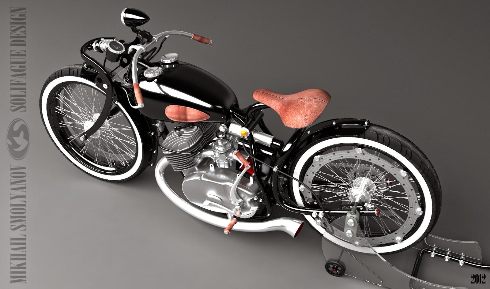 коляска на мотоцикл иж 5 #10