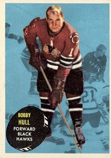 bobby hull chicago blackhawks hockey card