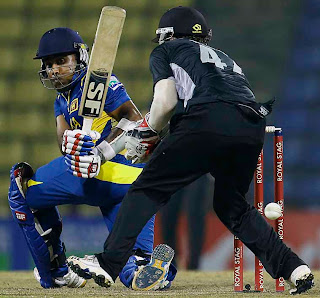 Sri Lanka wins 2nd rain-shortened ODI