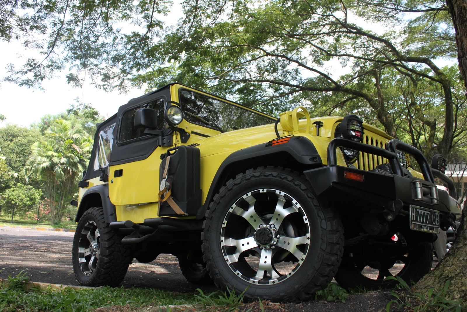 medan look modifikasi jeep cj7 ala andar perdana. Black Bedroom Furniture Sets. Home Design Ideas