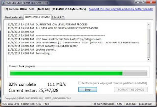 Download  HDD Low Level Format Tool 4.40
