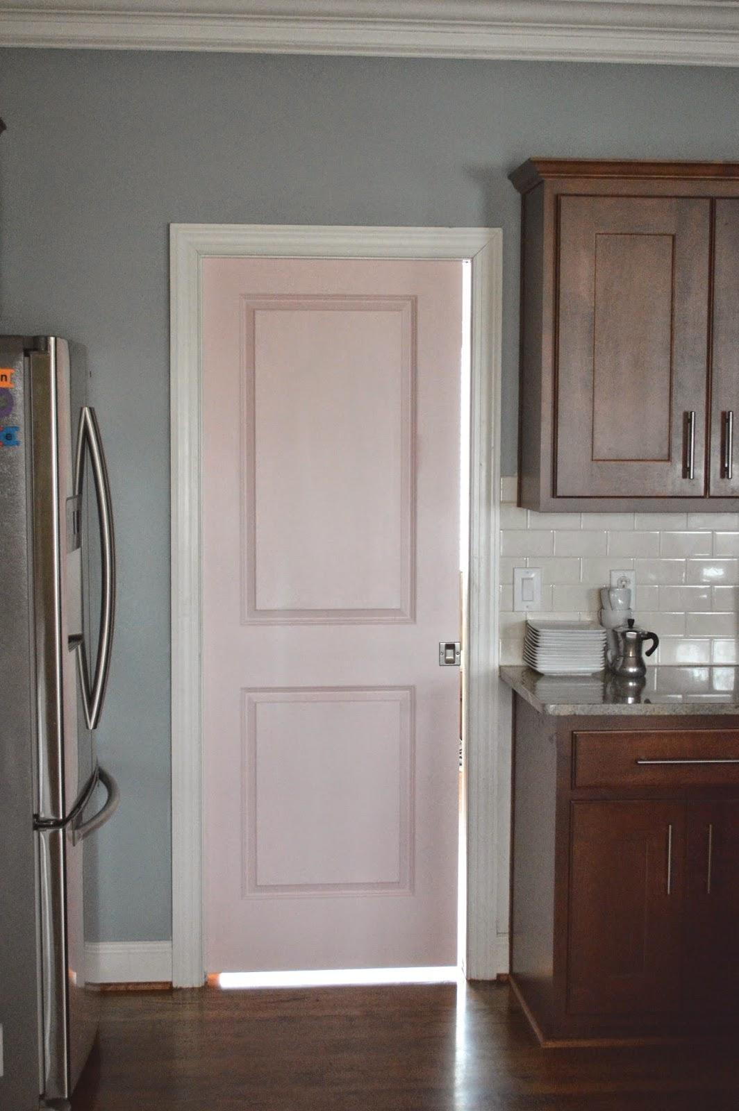 painted pocket door