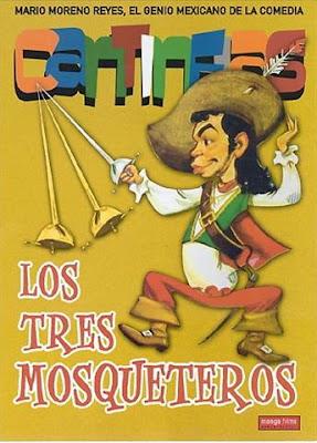 descargar Cantinflas: Los 3 Mosqueteros – DVDRIP LATINO