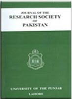 Journal of the Research Society of Pakistan