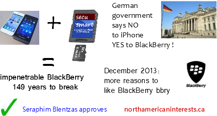 blackberry security,german government,secusmart,iphone,blackberry devices,blackberry,germany,government, nato security,securesmart,iphone servers,iphone,canadian companies,technology,positive bbry news,enterprise server,corporate smartphone,investing,techstocks,