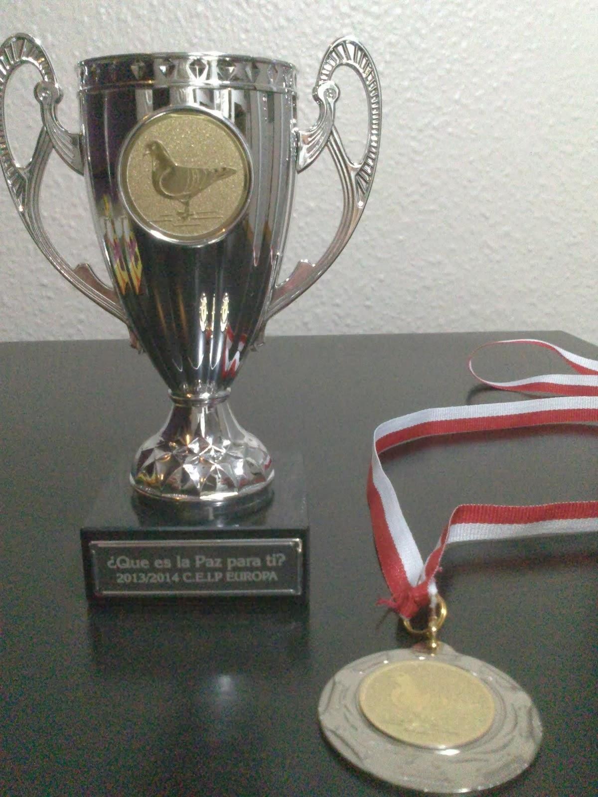 Trofeos día de la Paz.