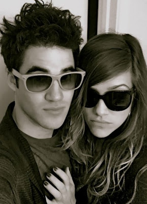 Darren Criss With His Beautiful Girlfriend In These New Images Gallery In 2013.
