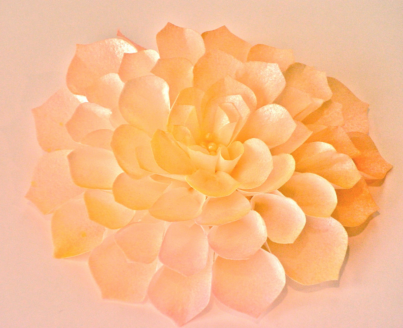 Once upon a pedestal flowers from wafer paper and frosting sheets wafer paper flower free tutorial dahlia black white mightylinksfo