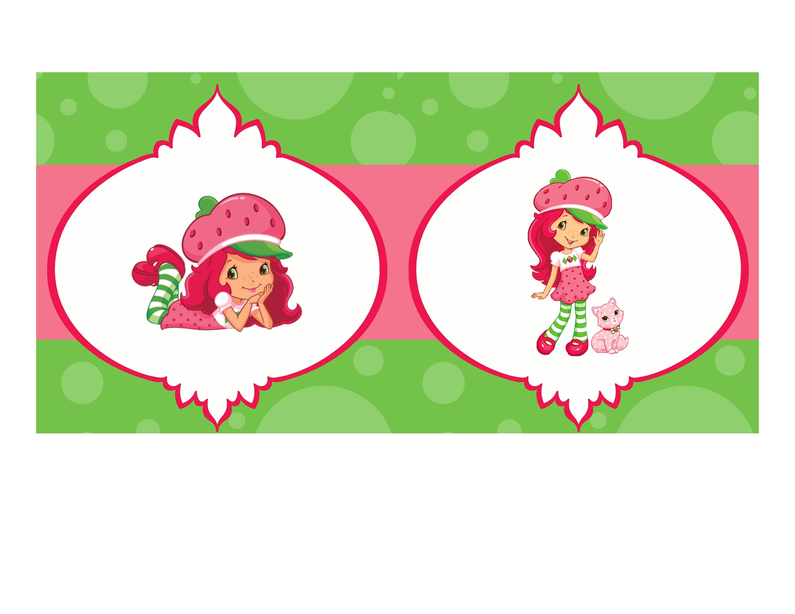 Strawberry Shortcake Birthday Invitations gangcraftnet