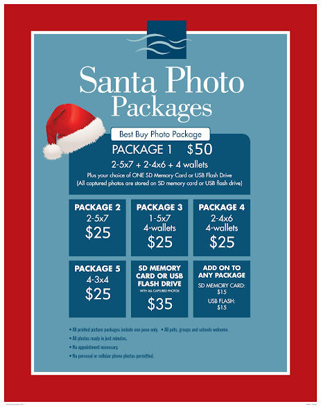 ~ SANTA PHOTO PACKAGES ~
