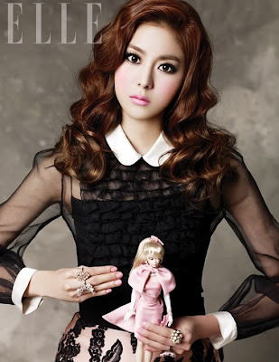 Uee After School Elle Magazine January 2012 Barbie Doll