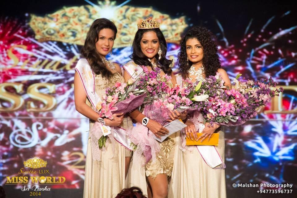 Siyatha Lux Miss World Sri Lanka 2014 winner Chulakshi Saubhagya Ranathunga