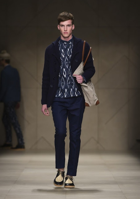 Burberry Spring Summer 2012 Runway
