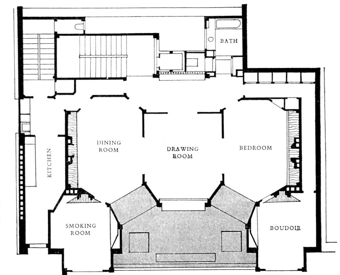 Hidden architecture rue franklin apartments for Appartement maison fr