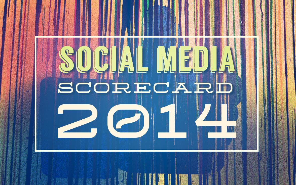 "Social Media Scorecard 2014 - Facebook ""Most Marketing Friendly"" Social Platform - infographic"
