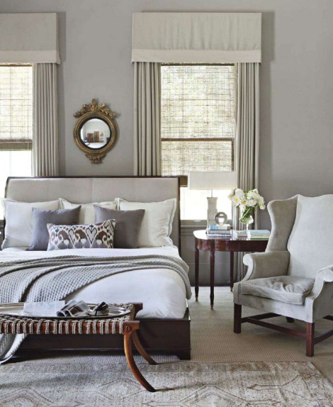 Haus design white gray and gold all over - Grey and gold bedroom ...