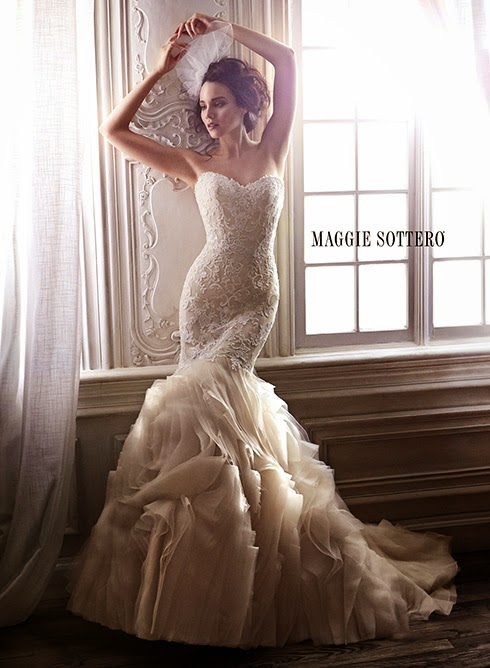 Spring 2015 Collection from Maggie Sottero