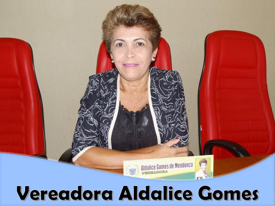 PORTAL ORÓS CONTA COM O APOIO DO VEREADORA ALDALICE GOMES