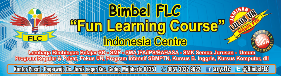 "Bimbel FLC ""Fun Learning Course"" Indonesia Centre"