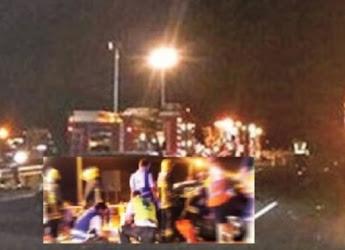 Dois feridos em cruzamento perigoso