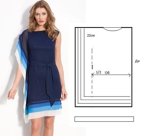 Модели платья своими руками