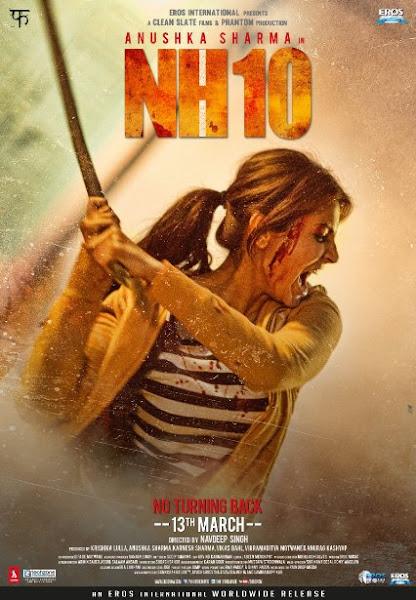 Poster Of NH10 2015 720p DVDRip Hindi