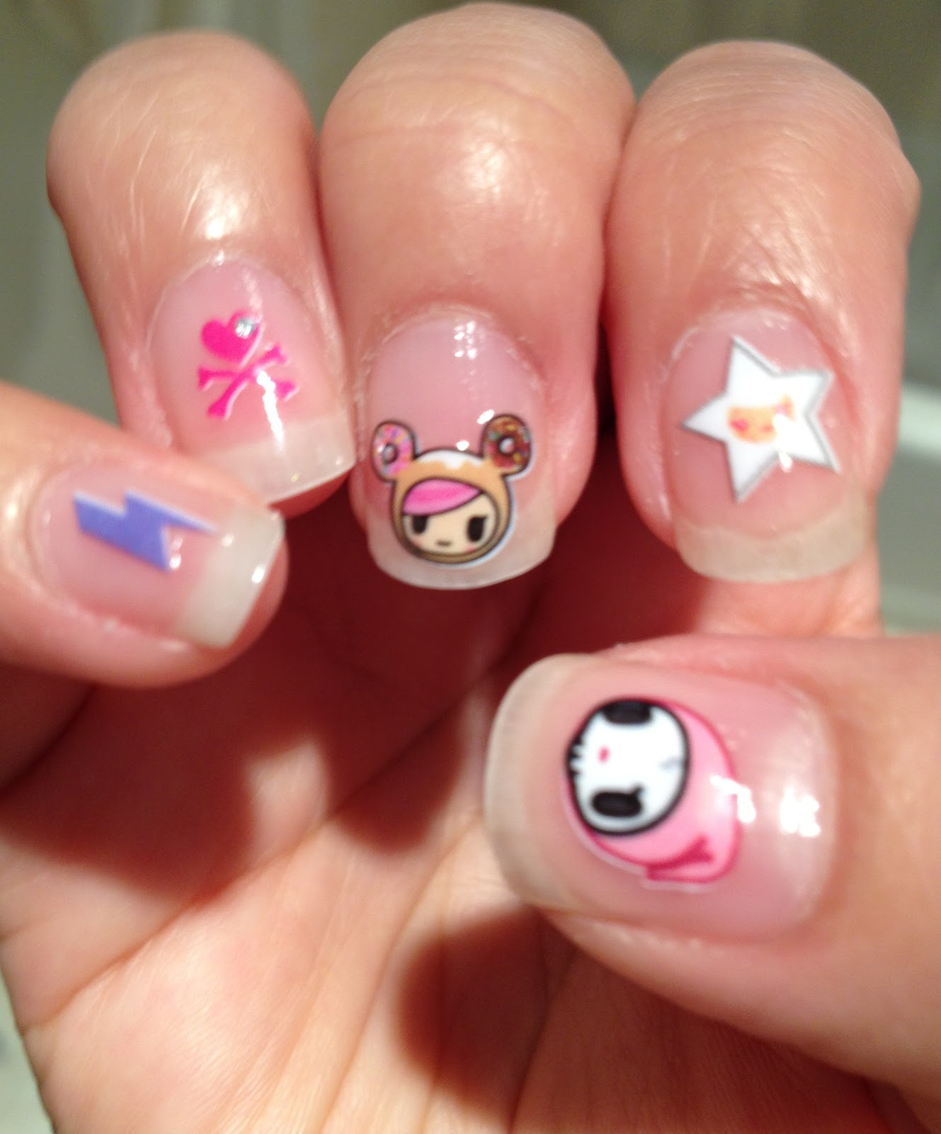 The Practigal: tokidoki Nail Art Stickers Review