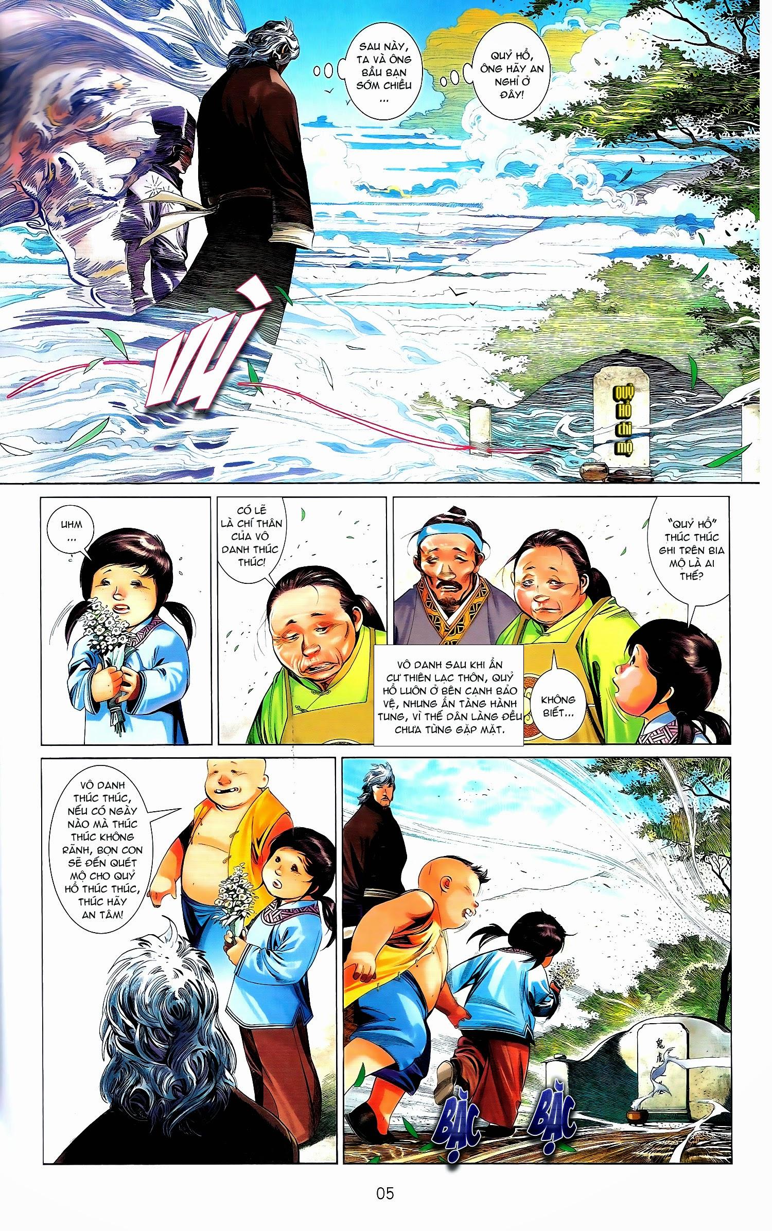 Phong Vân chap 671A Trang 5 - Mangak.info