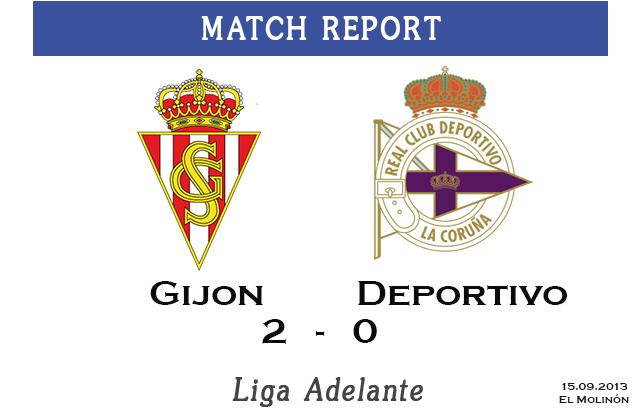Gijon vs Deportivo (2:0)