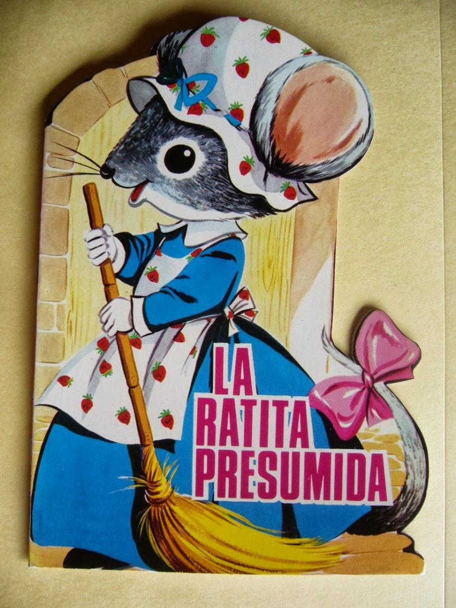 erase una vez, una ratita que era muy presumida, un dia la ratita estaba  barriendo su casita, cuando de de rrepente en el suelo ve algo que  brilla.... una ...