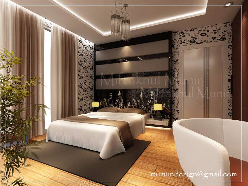 Ragam inspirasi Desain Interior Kamar Tidur Rumah Minimalis yang indah