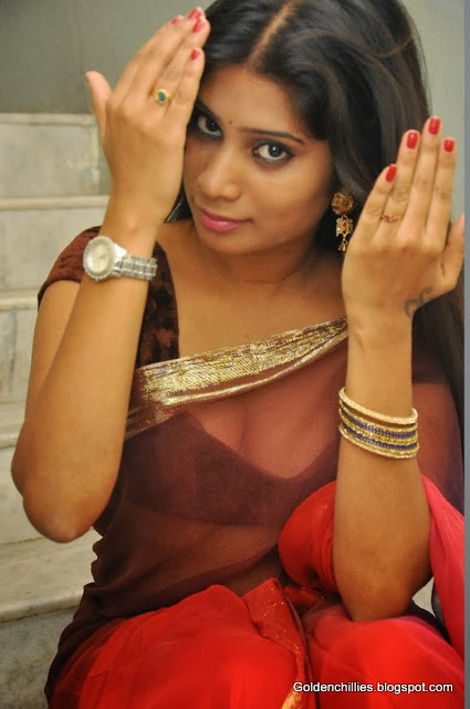 mithuna waliya hot in saree