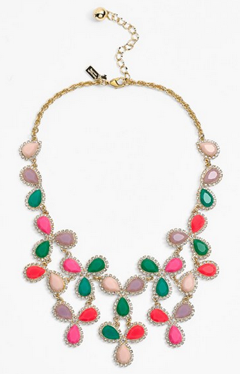 kate spade new york 'balloon bouquet' statement necklace $248.00