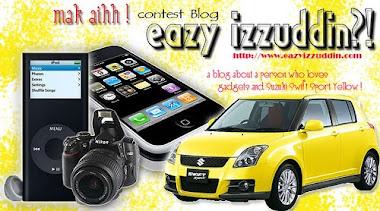 Mak Aih! Contest Blog Eazy Izzuddin?!