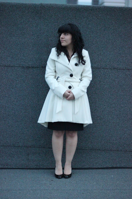 White Winter Coat