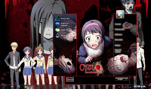 Corpse Party [ Theme Win 7] 1