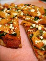 flatbread pumpkin pizza