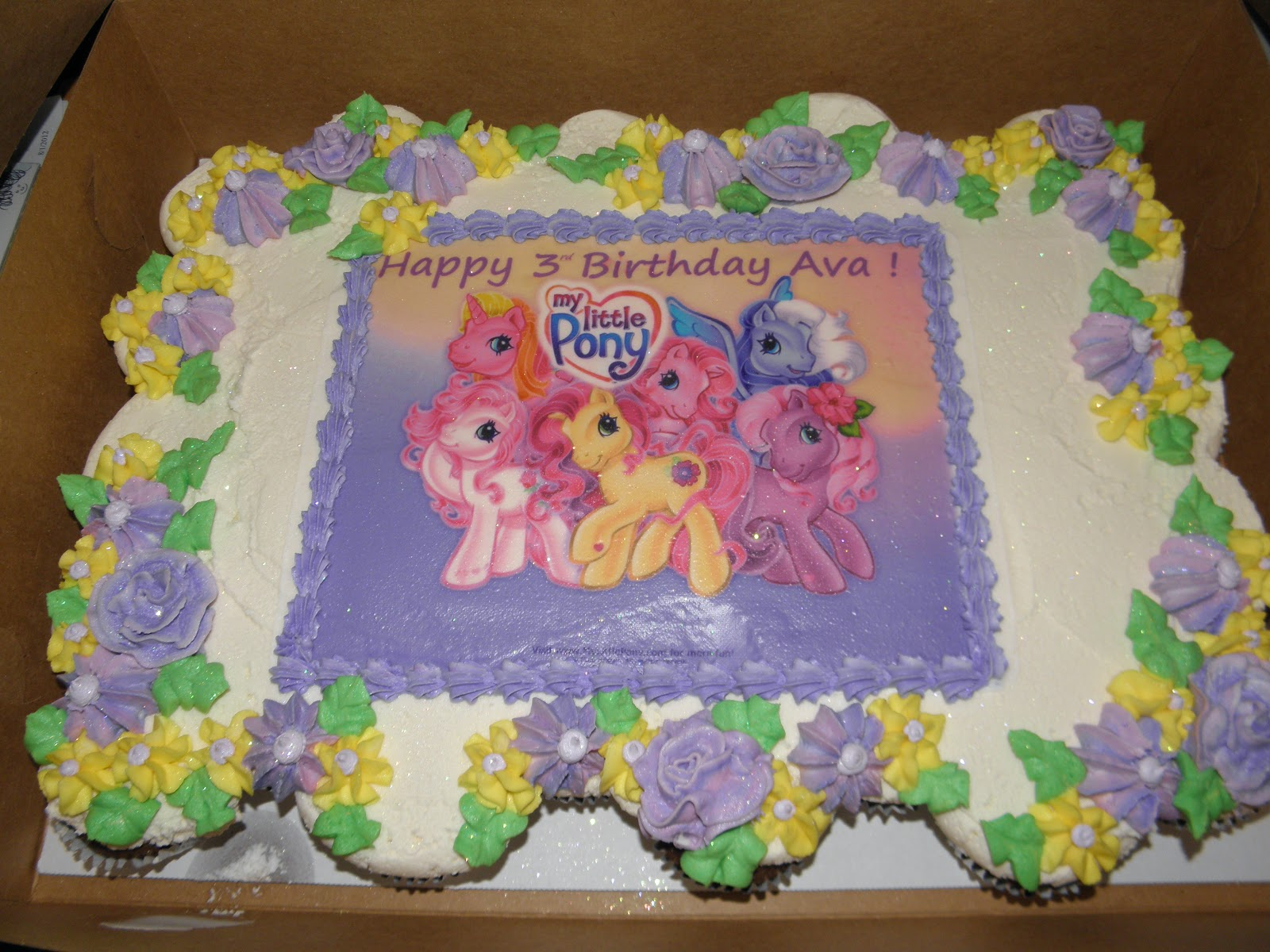 My Little Pony Cupcake Ideas My little pony!