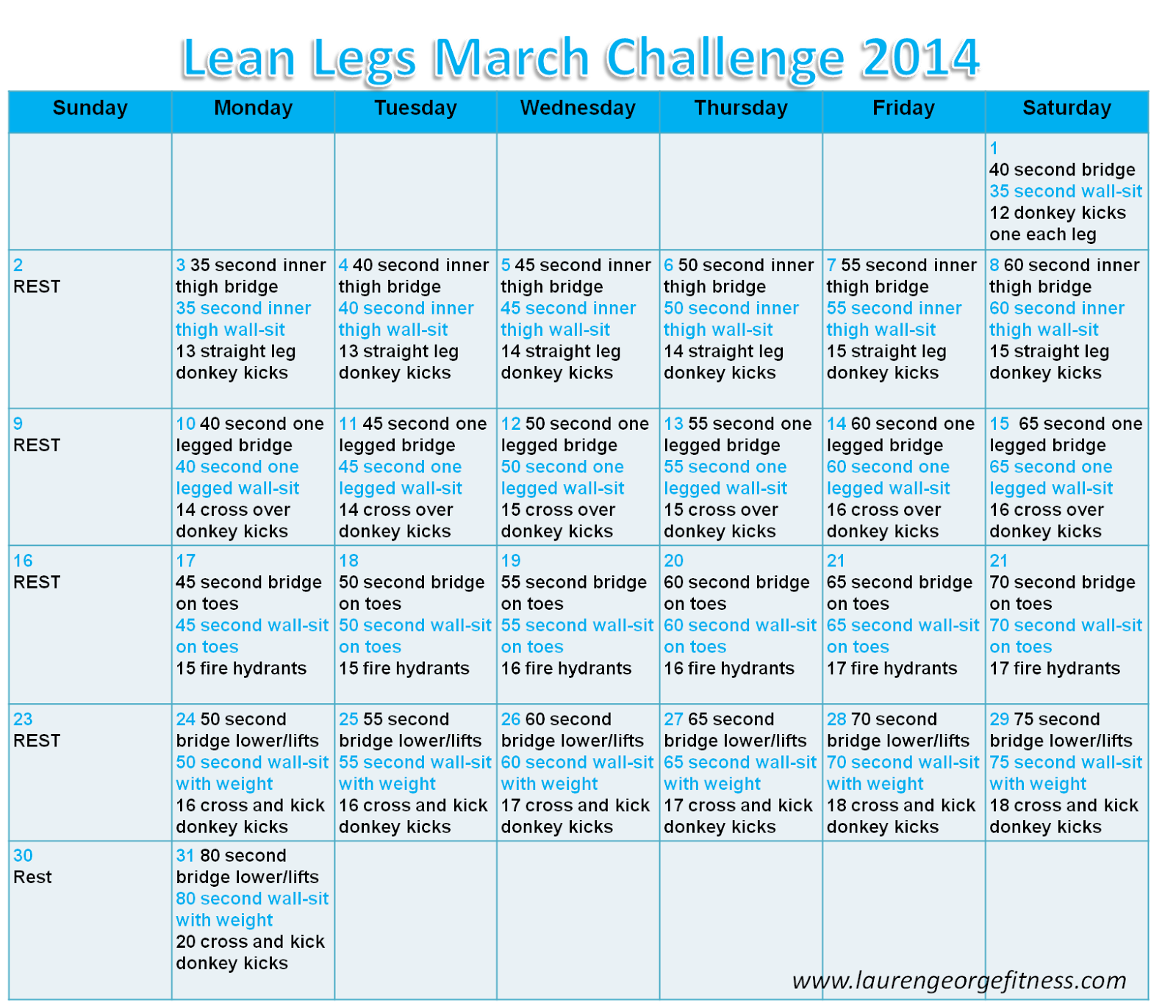 Lean legs march challenge 2014 fun fit and fabulous for 10 day try it lean cuisine