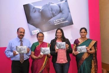Book launch on 'Breastfeeding'by swimming champion Nisha Millet in #Bangalore