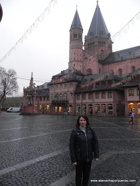 a grandiosa Catedral de Mainz