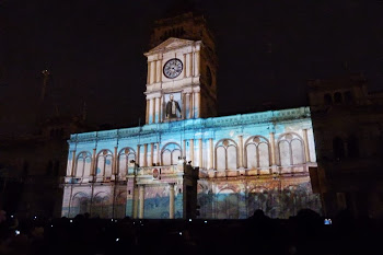 Bicentenario de Paraná - Mapping - Video