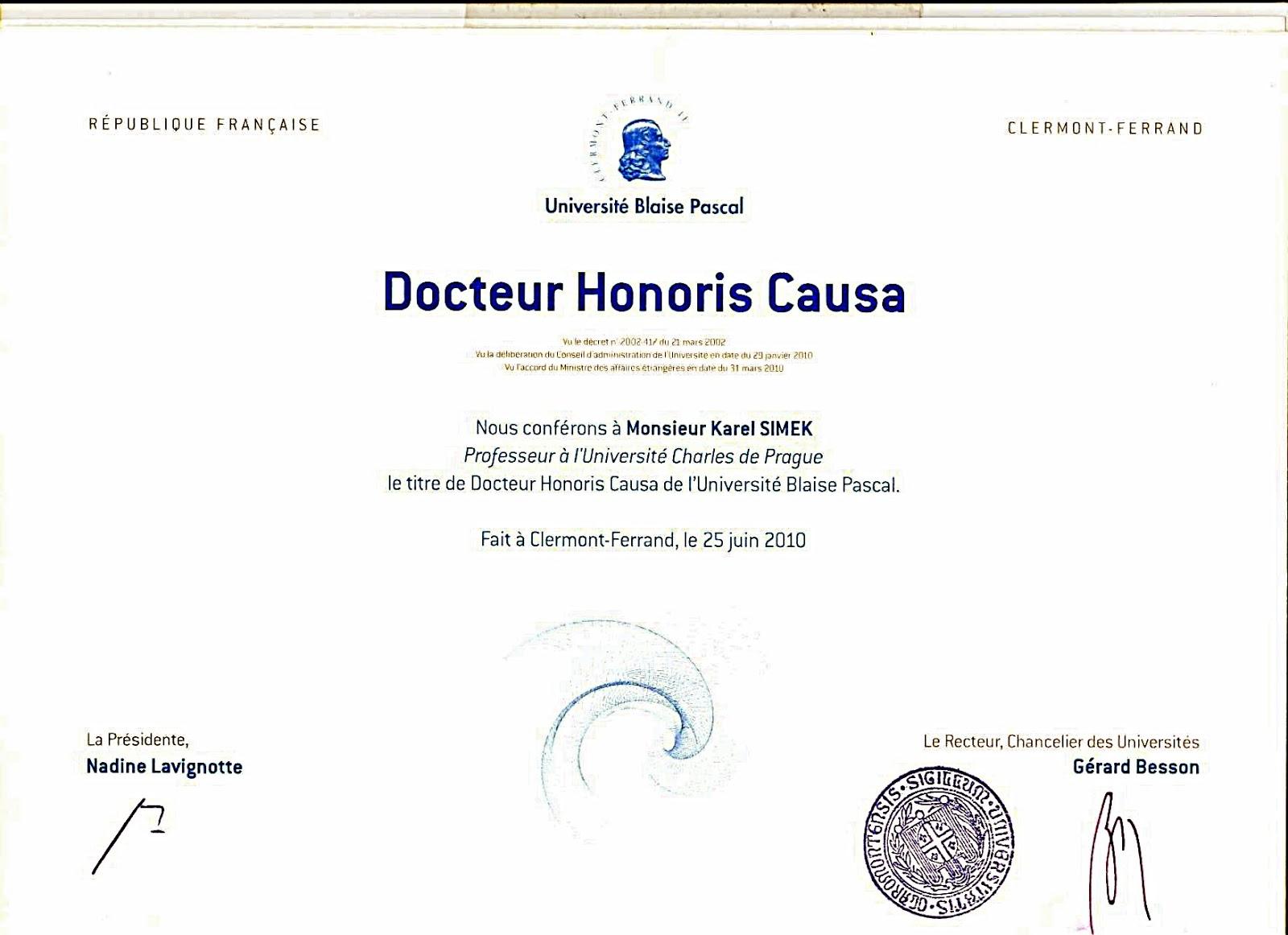 Taukah Anda Tentang Gelar Kehormatan Doktor Honoris Causa Dr Hc