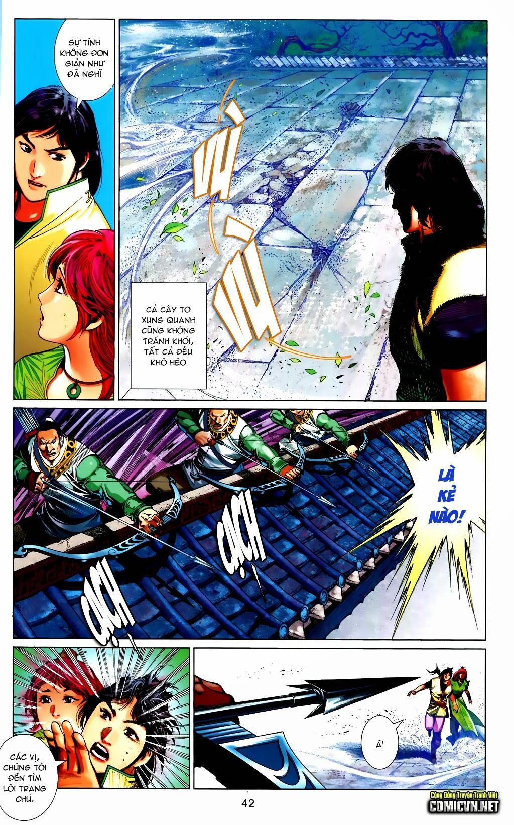 Phong Vân Chap 663 - Trang 42