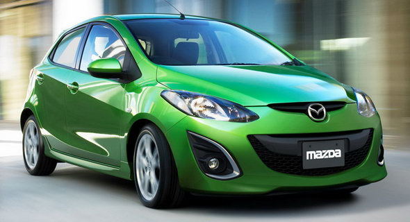 The Poor Car Reviewer 2012 Mazda 2 Gx